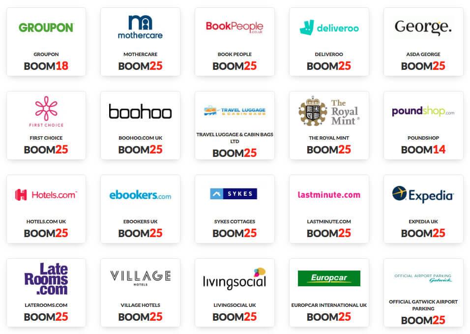 Boom25 parrainage, site de cashback