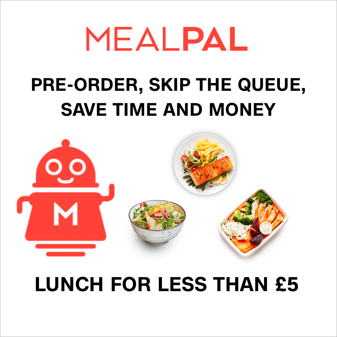 Mealpal 40% off your first month