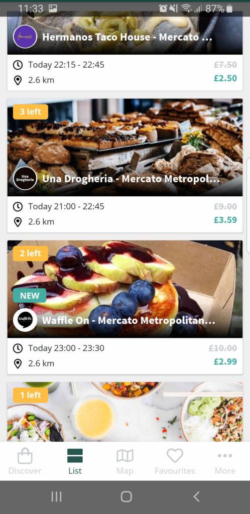 ToGoodToGo app capture d'écran