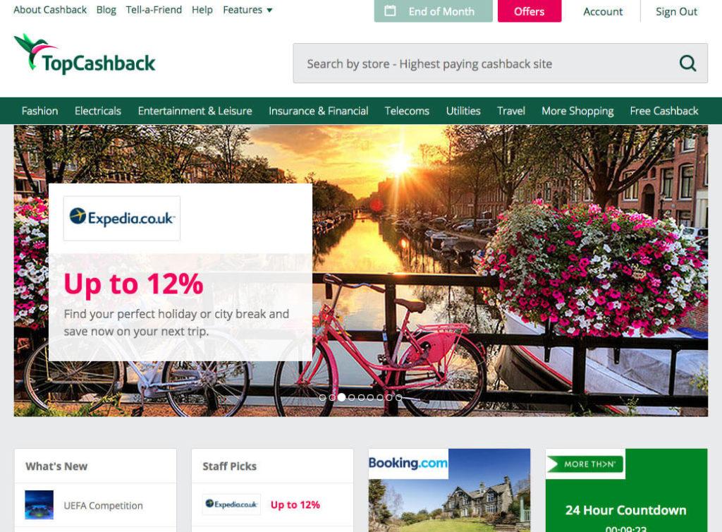 Topcashback parrainage, site de cashback