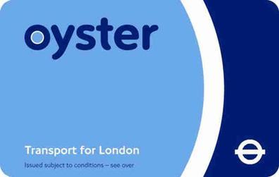 Carte Oyster standard - Transport à Londres