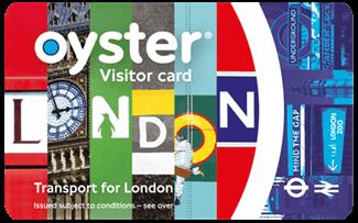 Oyster card pour visiteur Londres