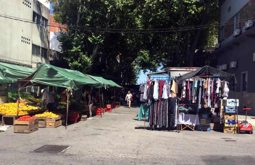 Montevideo street markets and fairs, buy cheaper and better quality food