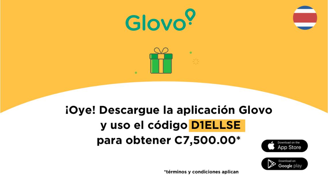 Glovo código - cupones por c2500 invita amigos - San José, Costa Rica